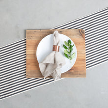 Black and White Table Runner