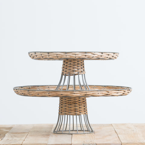 Woven Cake Stand