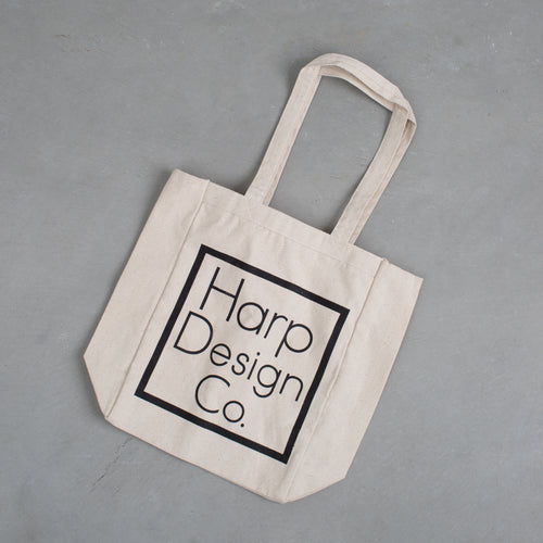 Harp Design Co. Canvas Tote