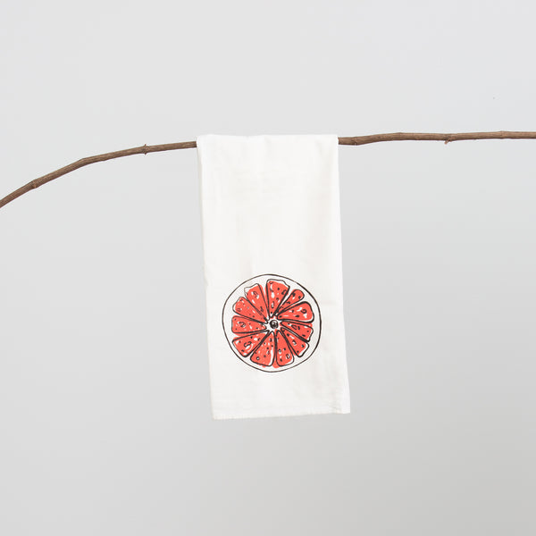 Grapefruit Towel - Large Grapefruits