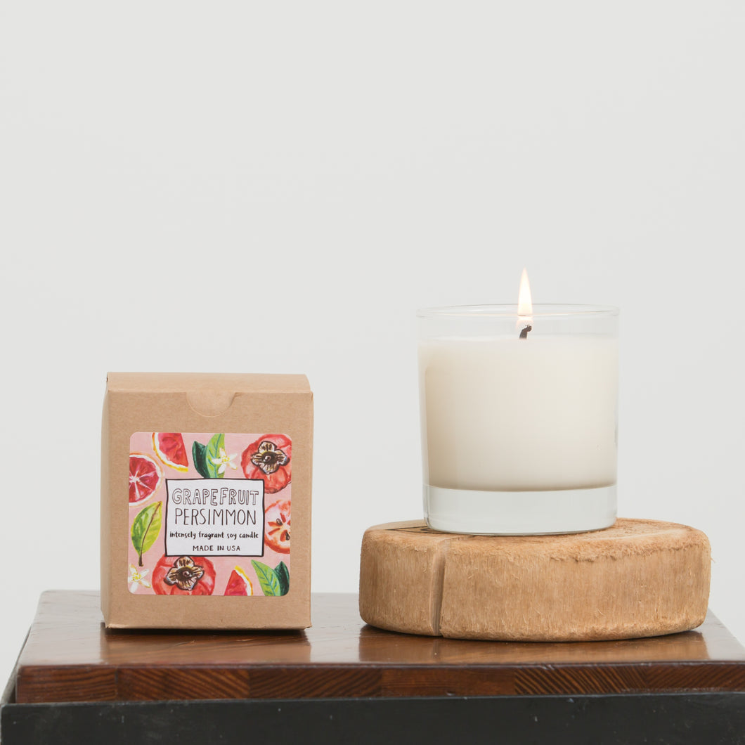 Grapefruit Persimmon Candle