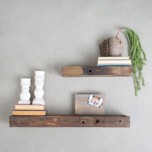 Small Reclaimed Wall Shelf
