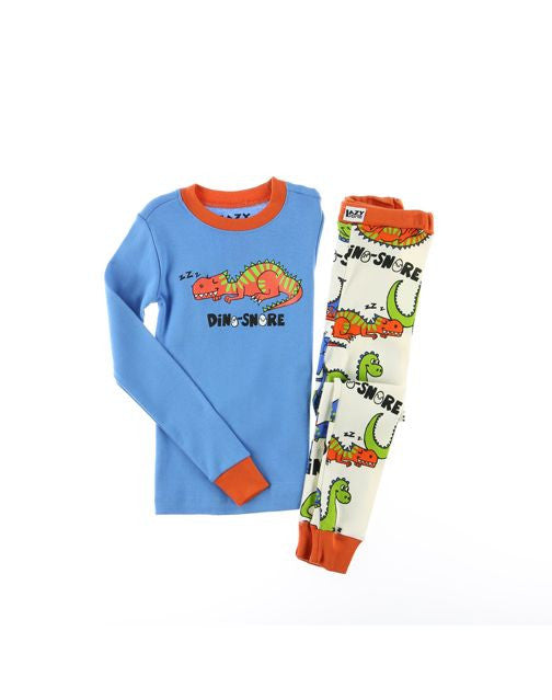 Dino-Snore Boy Kids PJ Set