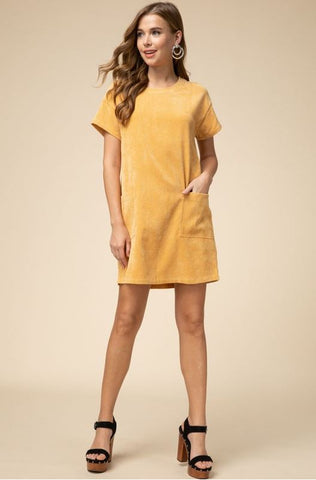 Golden Hour Dress- Mustard