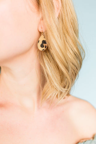 Wild Side Drop Earrings