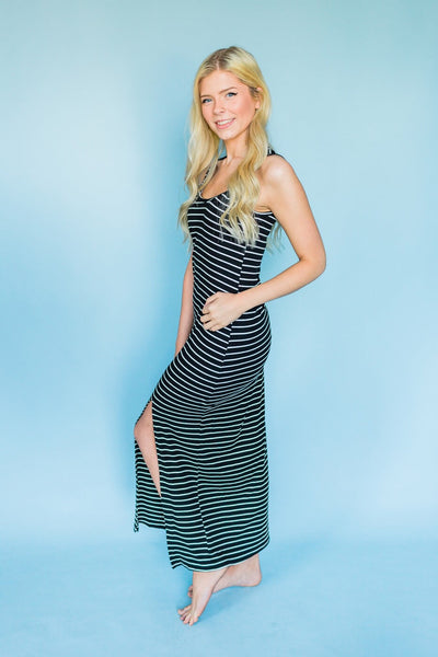 Fit For Everyday Maxi Dress- Black