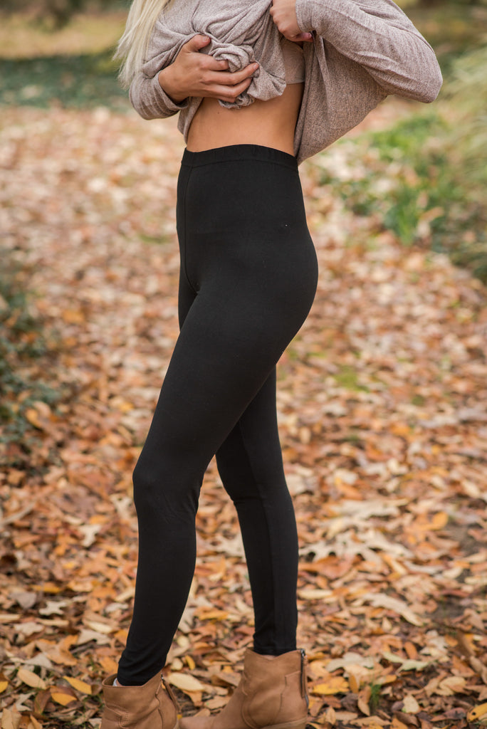 Everyday Black Leggings