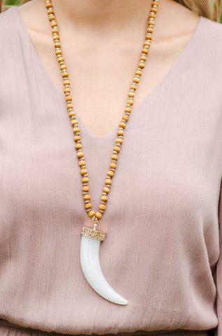 Watch Out For Her Horns Necklace - Simply UnJaded - 1