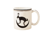 "Mimbreño Mug -""March Hare in Crescent Moon"" 11oz & 15oz"