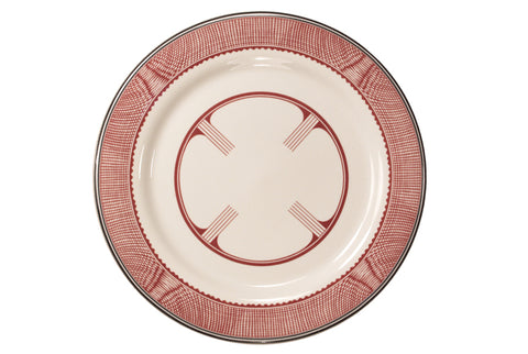 Mimbreño Dinner Plate - Geometric Design