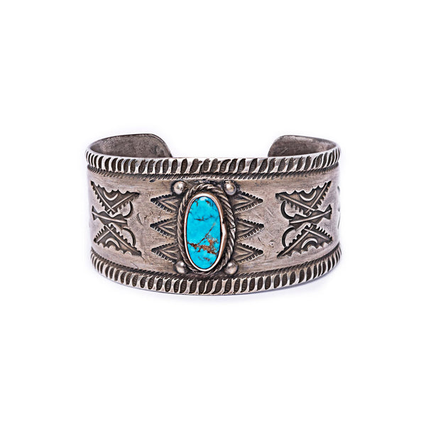 Butterfly Cuff Bracelet with Turquoise by Buffalo