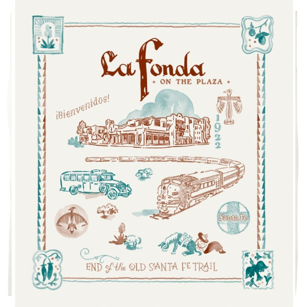 """La Fonda"" Kitchen Towel"