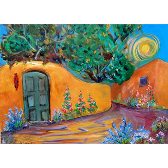 "Sandy Vaillancourt, ""Santa Fe Neighborhood"" 