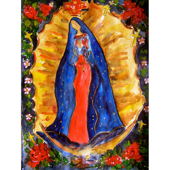 "Sandy Vaillancourt, ""Our Lady Guadalupe"" 