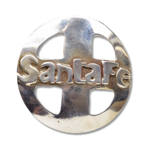 """SANTA FE RAILROAD"" Pin/Pendant"