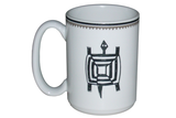 Mimbreño Mug Square Turtle 15oz