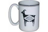 "Mimbreño Mug -""Bighorn Sheep"" Design 11oz & 15oz"