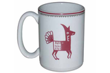 "Mimbreño Mug -""Dog"" Design 15oz"