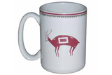 "Mimbreño Mug -""Deer"" Design 15oz"