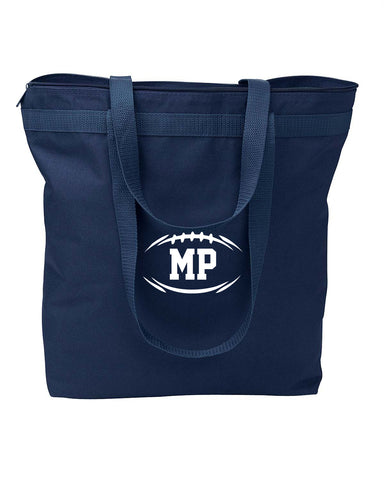MP Football Embroidered Shopping Tote