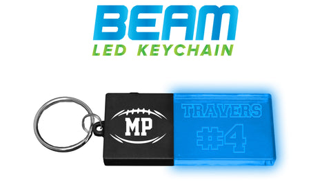 Personalized LED Keychain