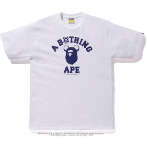 Be@r College Tee (White) - Bape