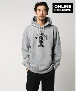College Pullover (Grey) - Bape