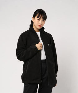 BOA Big Ape Face Oversized Jacket (Black) - Bape Women's