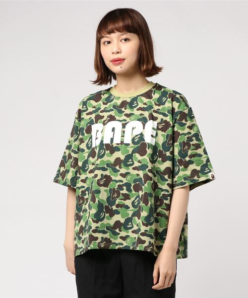 ABC Wide Tee - Bape Women's