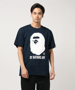 Bicolor By Bathing Tee (Navy) - Bape