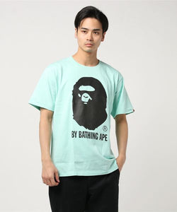 Bicolor By Bathing Tee (Mint) - Bape
