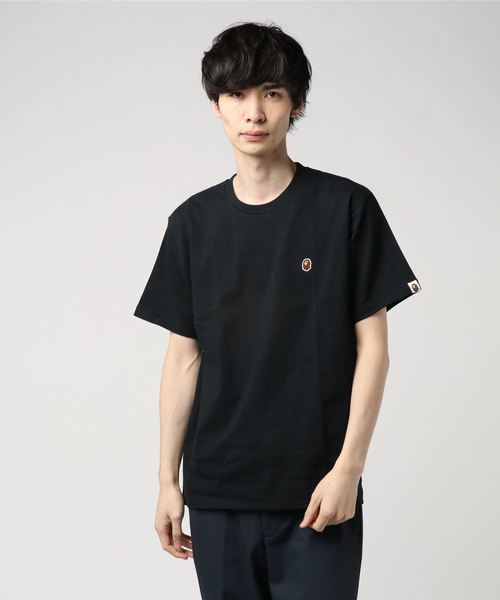 Ape Head One Point Tee (Black) - Bape