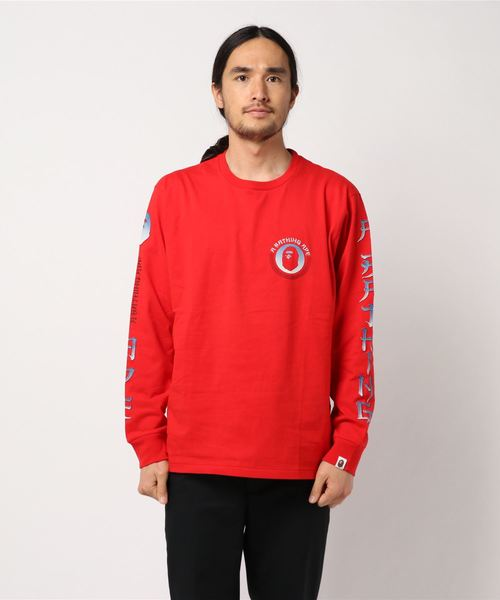 Master Long Sleeve (Red) - Bape