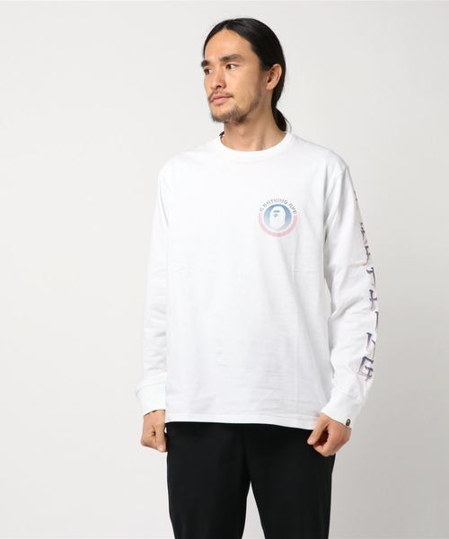 Master Long Sleeve (White) - Bape
