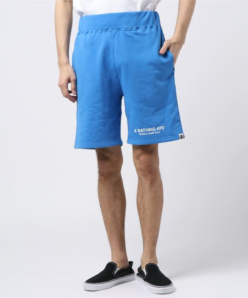 Pastel Color Sweat Shorts (Blue) - Bape