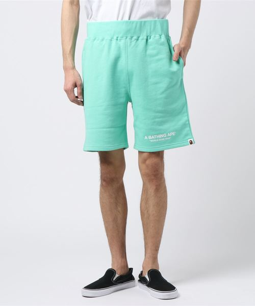 Pastel Color Sweat Shorts (Green) - Bape