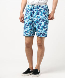 ABC Reversible Shorts (Grey/Blue) - Bape