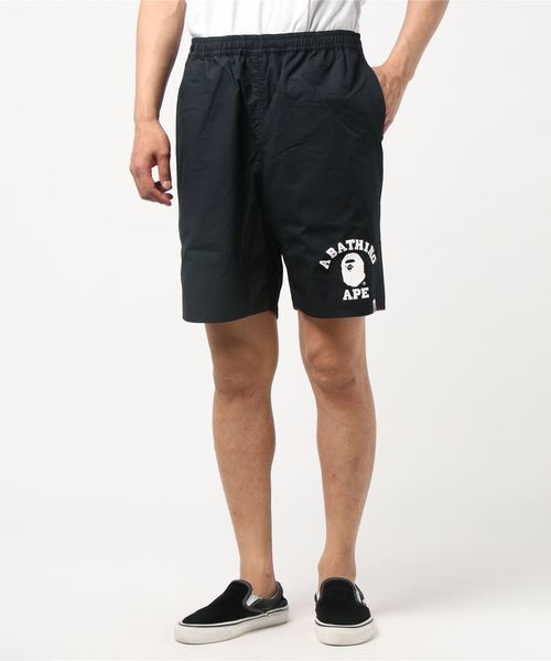 ABC Reversible Shorts (Black/Pink) - Bape