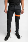 Orange Strap Jeans - C2H4 Los Angeles