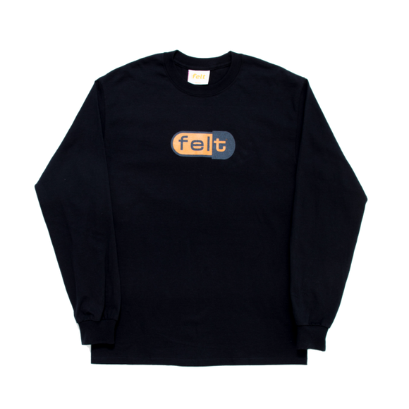 Black Disco Biscuit Long Sleeve - FELT