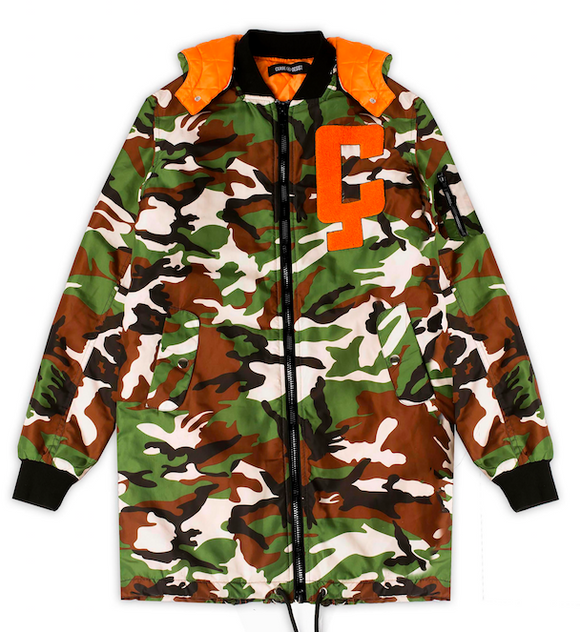 CD-1 Longline Coat (CAMO) - Cease & Desist