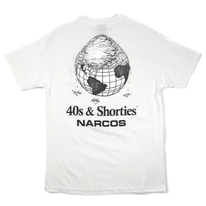 Cover The Earth Tee (White) - 40s & Shorties