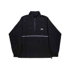Lurk Half Zip Jacket (Black/Dark Green) - FELT