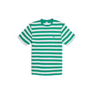 Playboy Bunny Stripe Tee (Teal) - Good Worth & Co