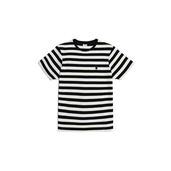 Playboy Bunny Stripe Tee (Black) - Good Worth & Co