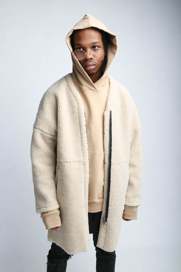 Reborn Heavy Overlong Sheep Coat - Arno De France