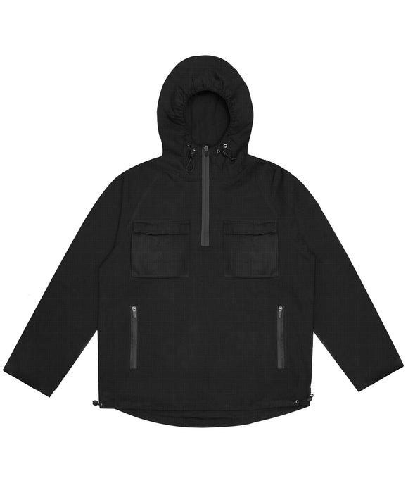 Black City Windbreaker - Wasted Paris