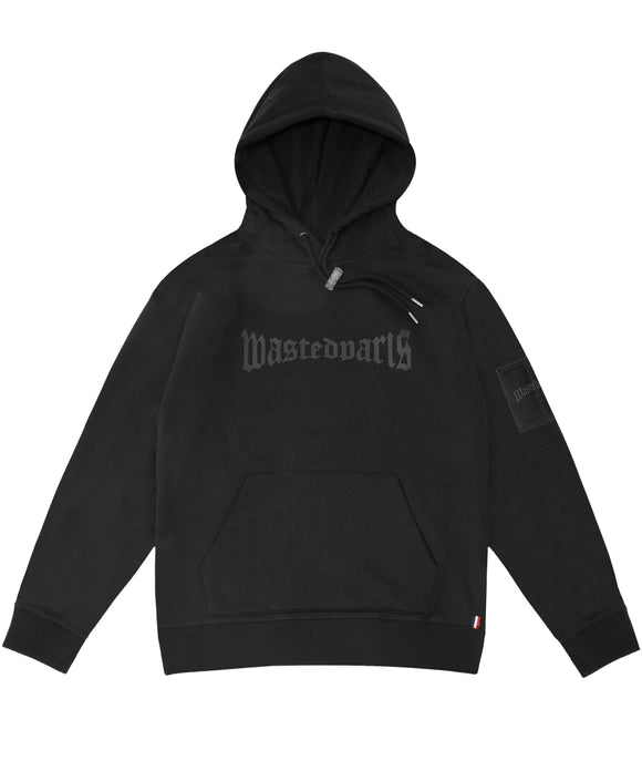 Black London Hoodie - Wasted Paris