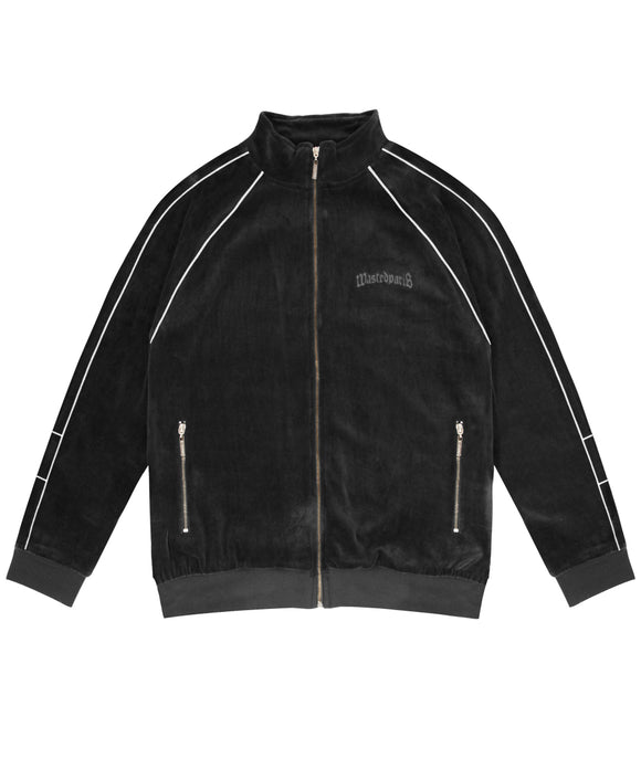London Track Jacket (Black) - Wasted Paris