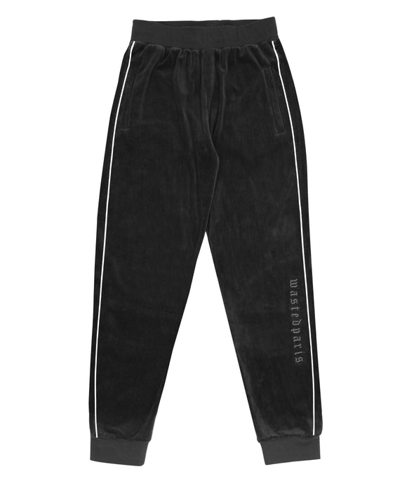 London Trackpant (Black) - Wasted Paris
